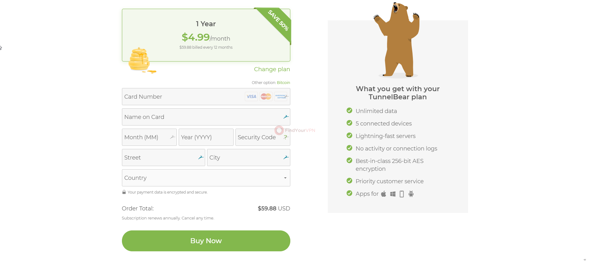 TunnelBear Review 2019 (In-Depth Testing & Review) - FindYourVPN