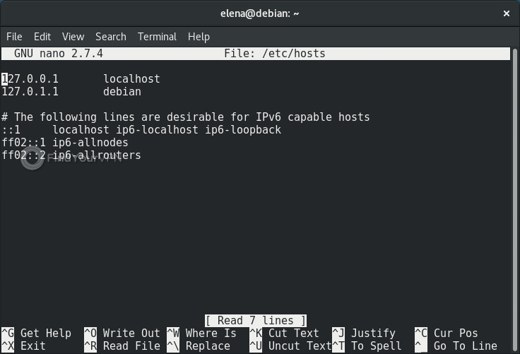How to edit the Linux Hosts file