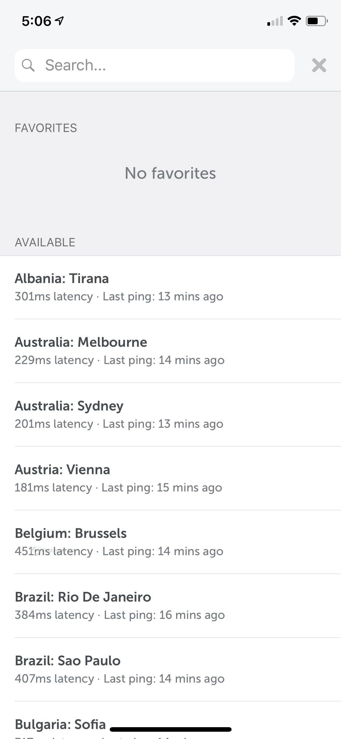 Namecheap iOS app server list