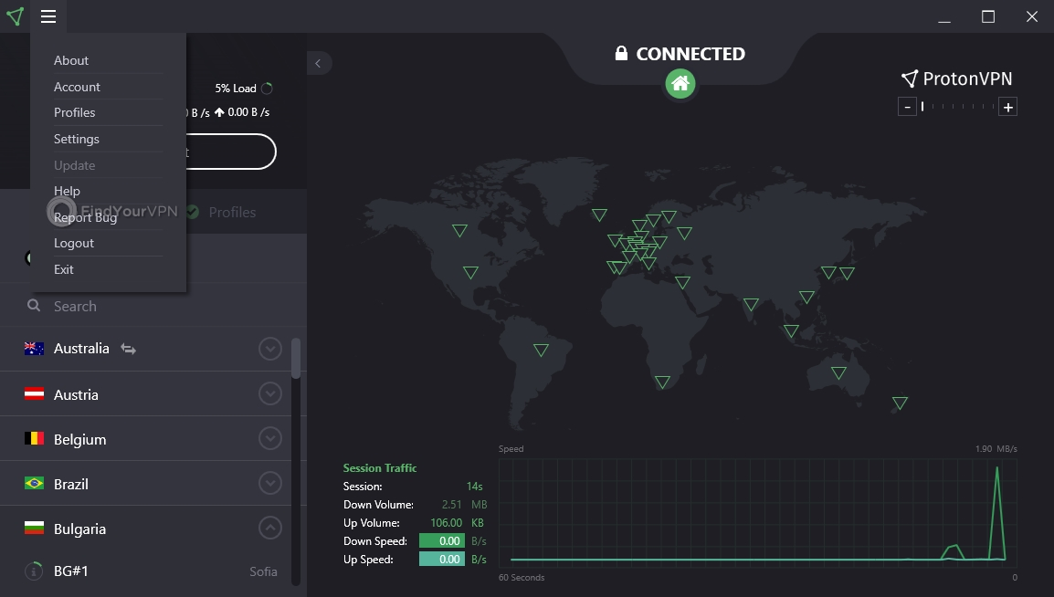 ProtonVPN Review 2019 (5 Pros & 5 Cons) | Rating (2 9 out of 5)