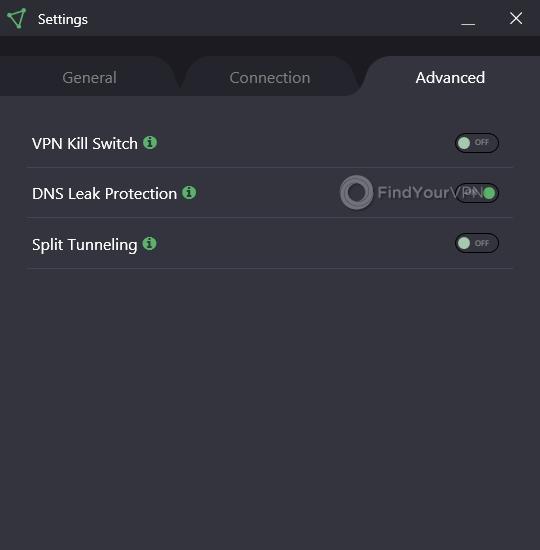 ProtonVPN Advanced Settings