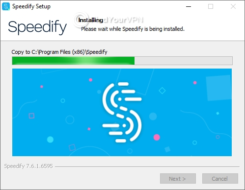 Speedify Setup Windows