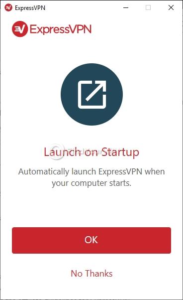 ExpressVPN intro startup