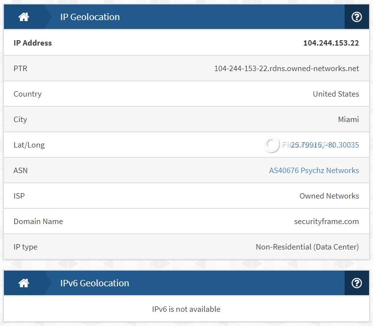 IronSocket IPX IP Test