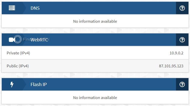 Mullvad IPX DNS Test