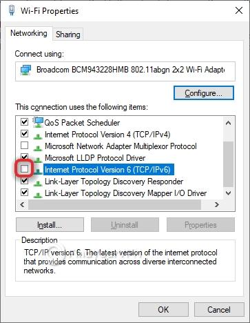 Smart DNS Proxy Configure DNS Disable IPv6