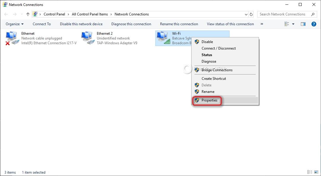 Smart DNS Proxy Configure DNS Interface Properties