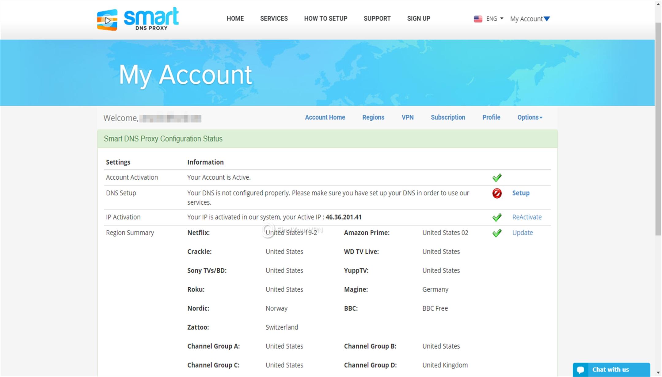 Smart DNS Proxy Dashboard