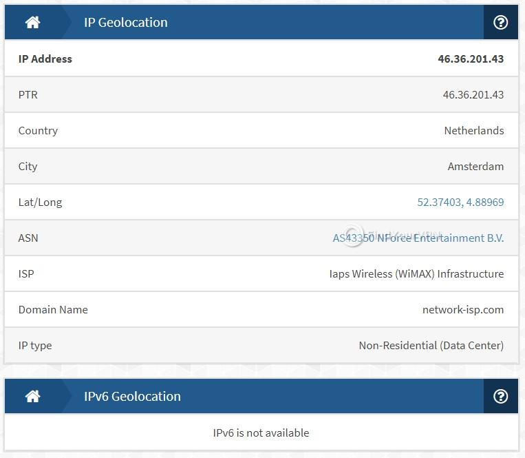 Smart DNS Proxy IPX IP Test
