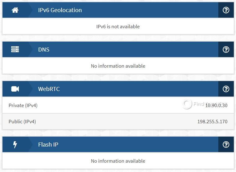 Unlocator IPX test DNS