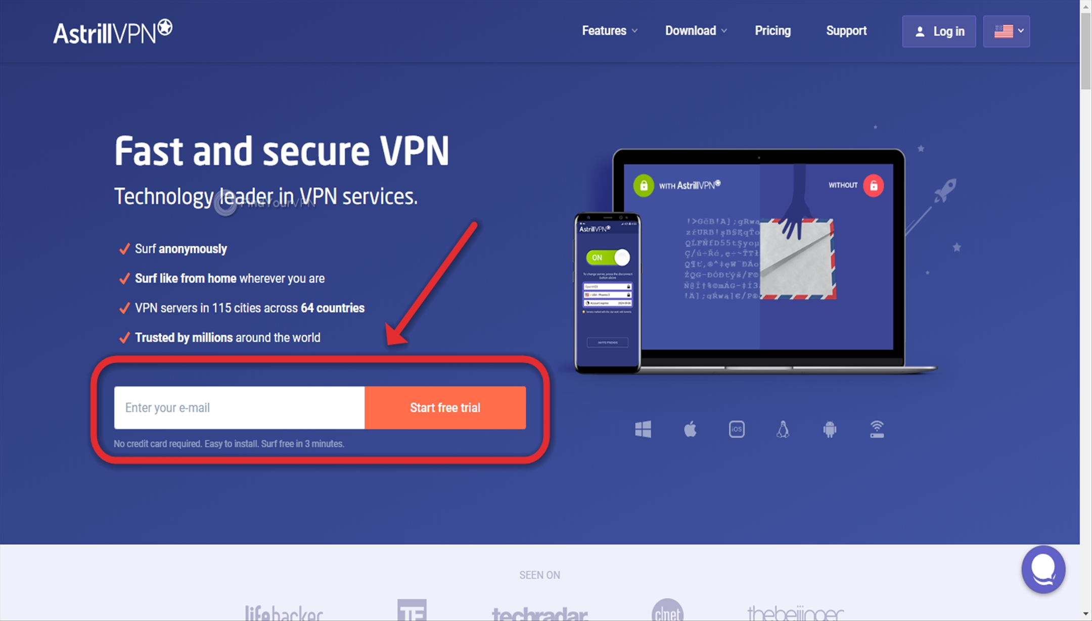 Astrill VPN Review 2019 (4 Pros & 8 Cons) | Rating (1 75 out