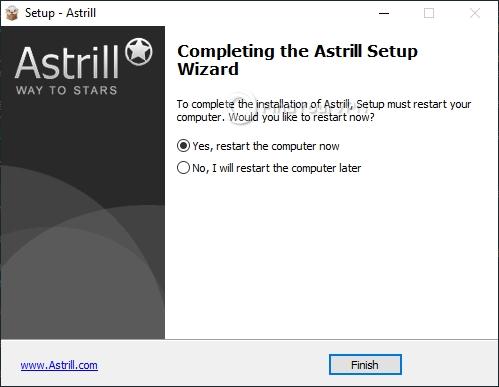 Astrill Setup final