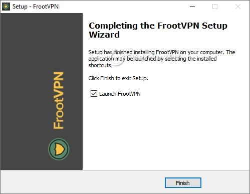 FrootVPN Setup Completed