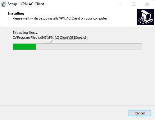 VPN.AC Setup Progress
