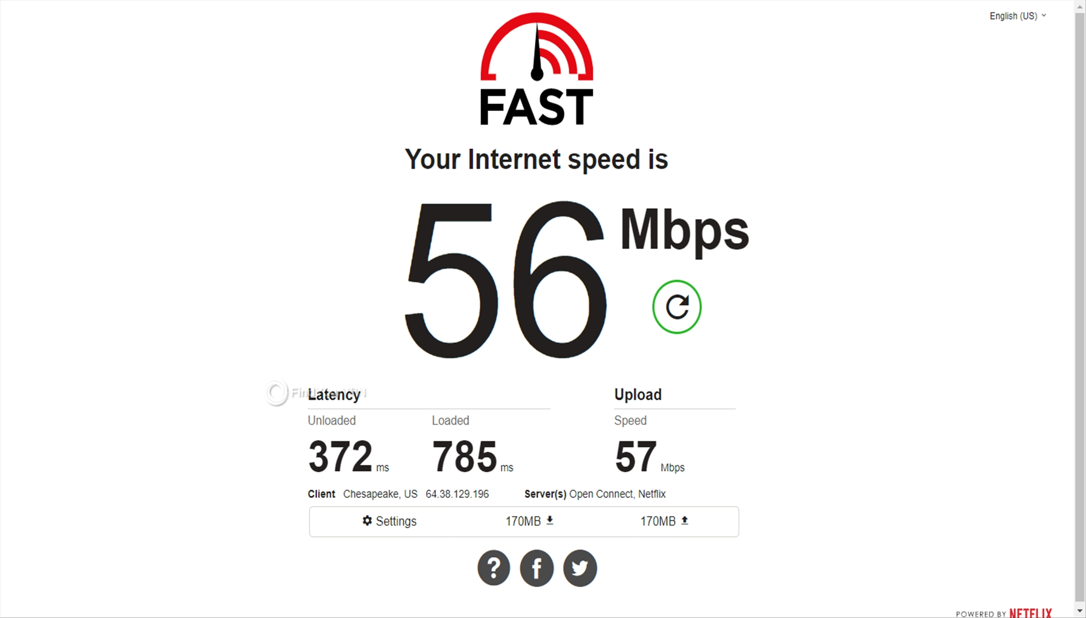 Speed test Japan NordVPN