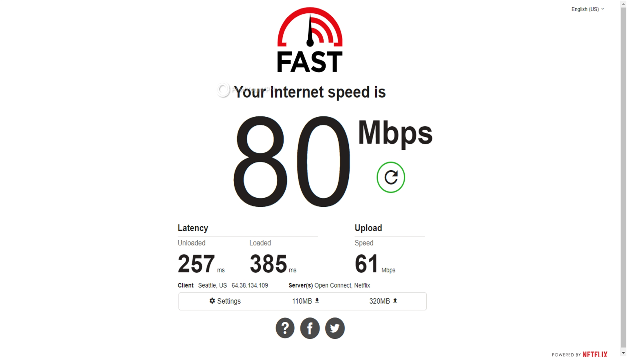 Speed test Turkey NordVPN