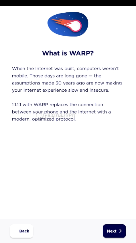 WARP description