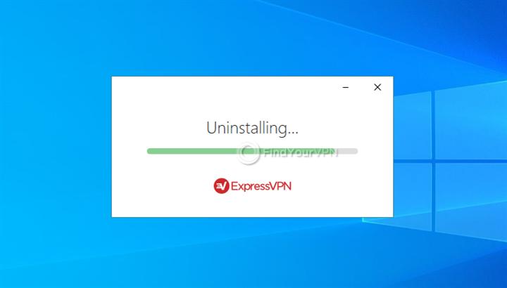ExpressVPN is getting uninstalled on Windows 10