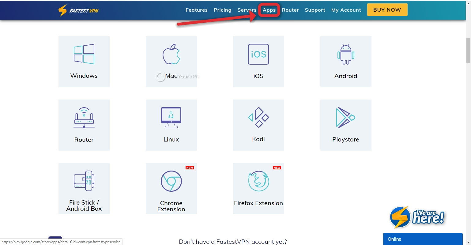 How to download FastestVPN