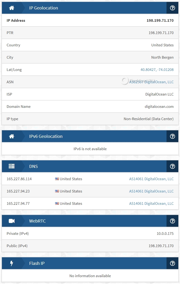 IPX security results for Hola VPN