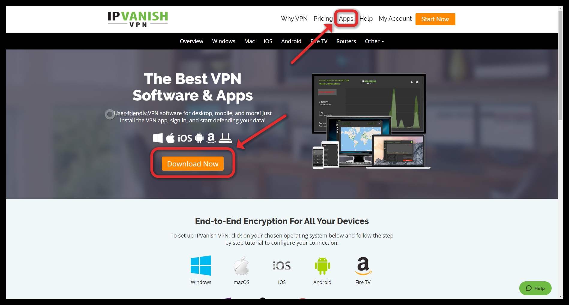 How to download IPVanish