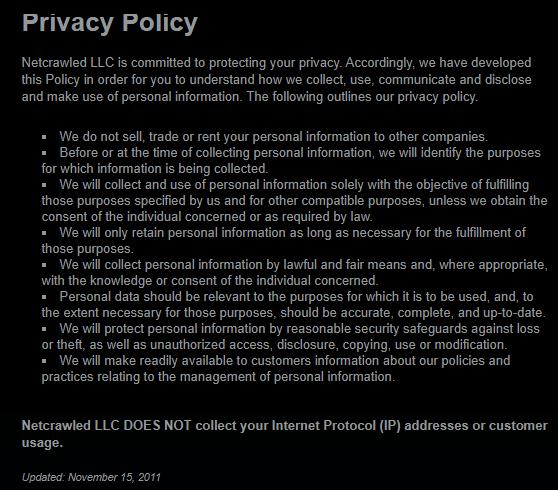 BTGuard privacy policy