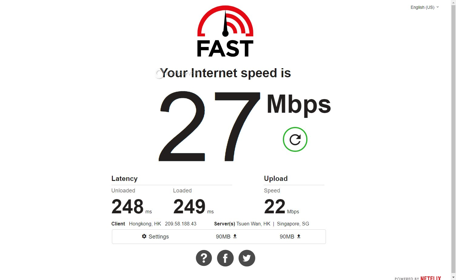 Avira Phantom VPN speed test Hong Kong