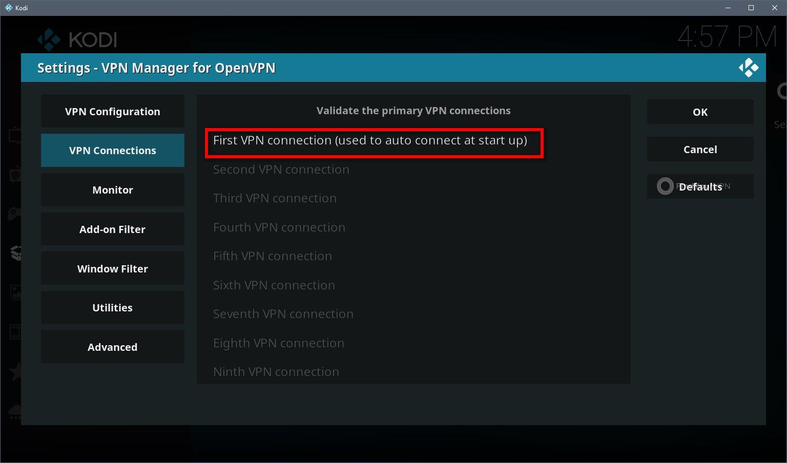 Kodi VPN Alternative Install Step 3