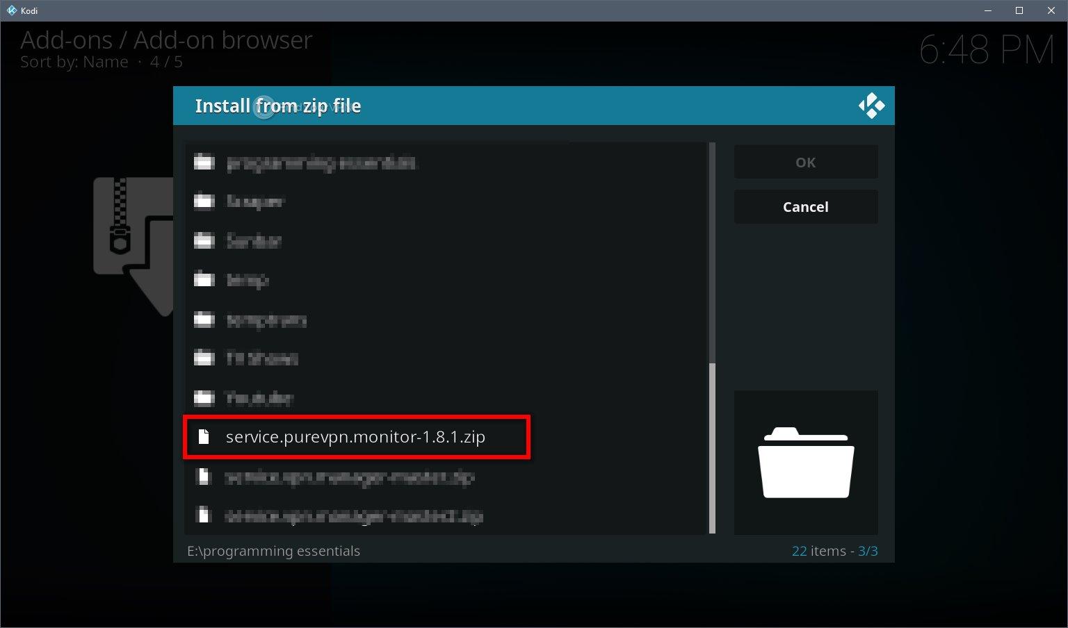 Kodi VPN Install Official Repo Step 4