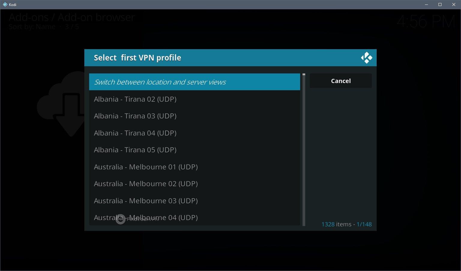Kodi VPN Install Step 10