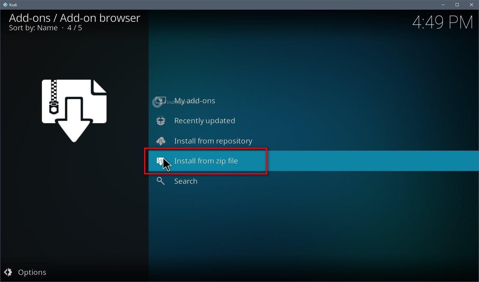Kodi VPN Install Step 2