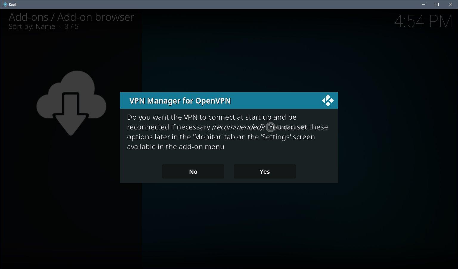 Kodi VPN Install Step 9