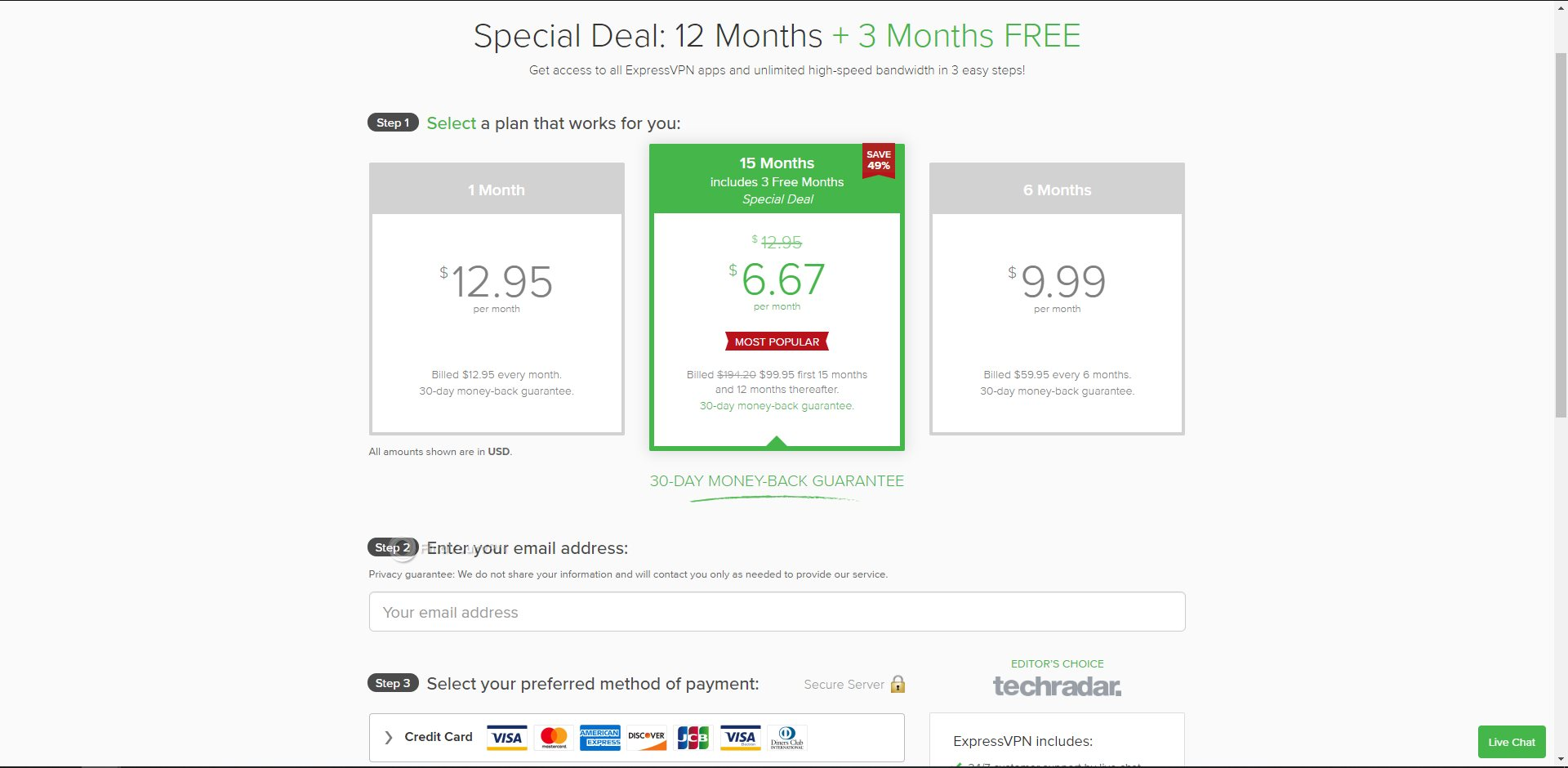 ExpressVPN Subscription Prices