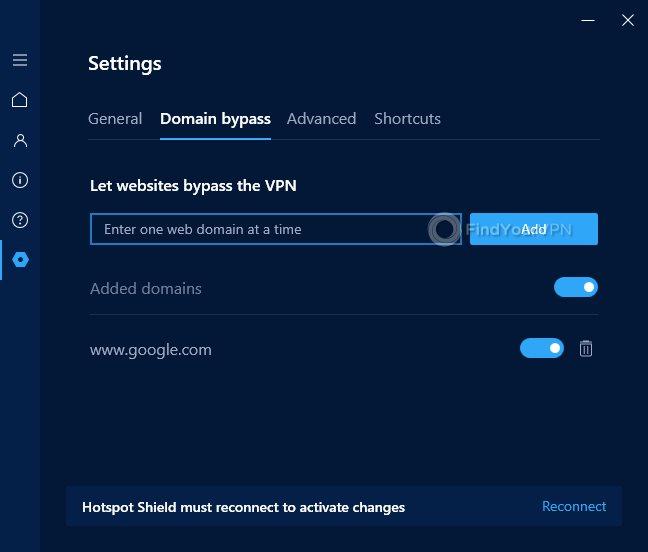 Hotspot Shield Domain Bypass