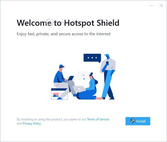Hotspot Shield Installation License Agreeement